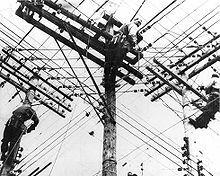 Création de l'électricité