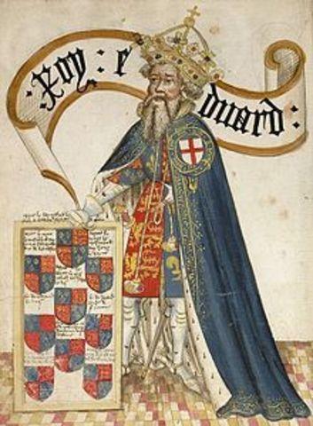 Edward III takes England