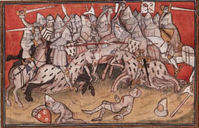 Breton War of Succession Begins