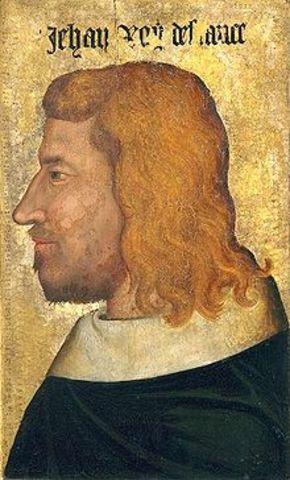 Crowning of John II