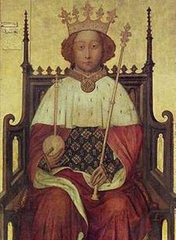 Crowning of Richard II