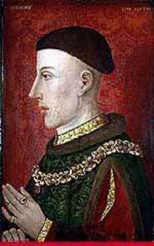 Henry V Takes Caen
