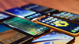Evolution Of The Mobile Phones timeline