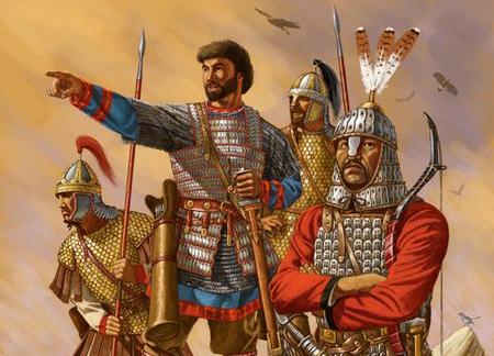 Dopo lunghe guerre l'occidente viene riconquistato.