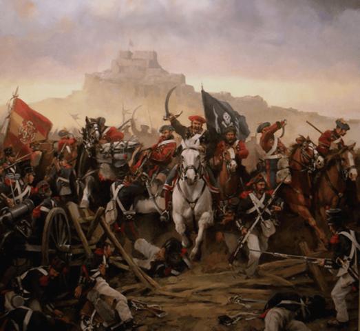 Derrota de les tropes del General Cabrera