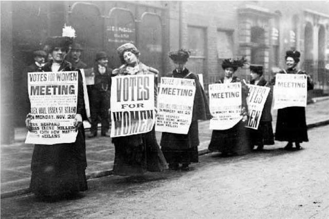 Le droit de vote est accordé aux femmes