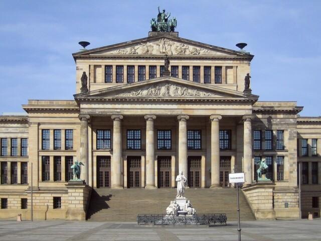 """""""Teatro Real Prusiano"""" de KARL FRIEDRICH VON SCHINKEL"""