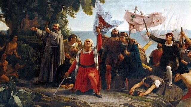 Cristobal Colon descubre América