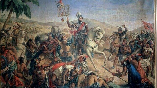 Hernán Cortés inicia la exploración del antiguo reino azteca