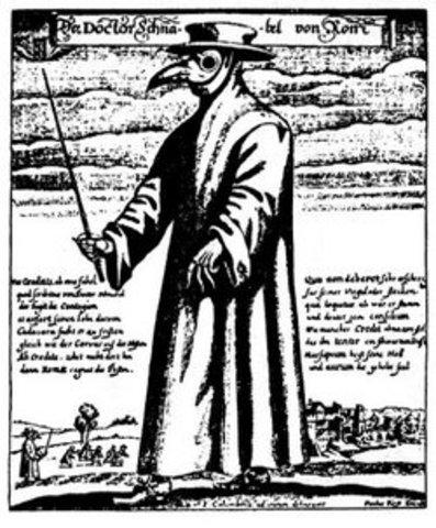 Bubonic Plague Starts