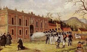 Morelos arrestado y fusilado en Ecatepec.