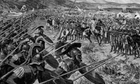La Batalla de Maratón