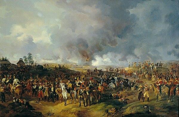 """Batalla de Leipzig"" de ALEXANDER ZAUREWEID"