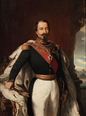 """""""Retrato de Napoleón III"""" de FRANZ XAVER WINTERHALTER"""