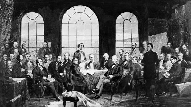 Acte d'Amérique du Nord britannique (AANB) et Naissance de la confédération canadienne