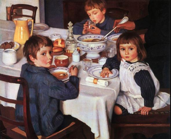 """Desayuno"" de ZINAIDA SEREBRIAKOVA"