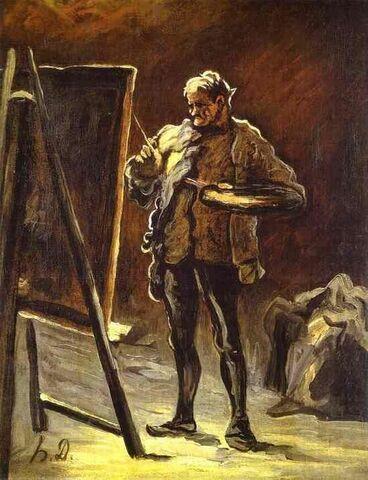 """""""Un artista: Daumier"""" de HONORÉ DAUMIER"""