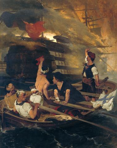 Ανατίναξη της τουρκικής ναυαρχίδας