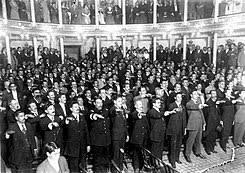 se convoco el Congreso Constituyente en Mexico