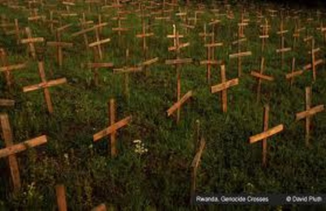 Rwandan Genocide Ends