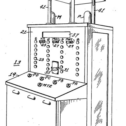 Самая первая игра и самый первый игровой автомат Nimatron