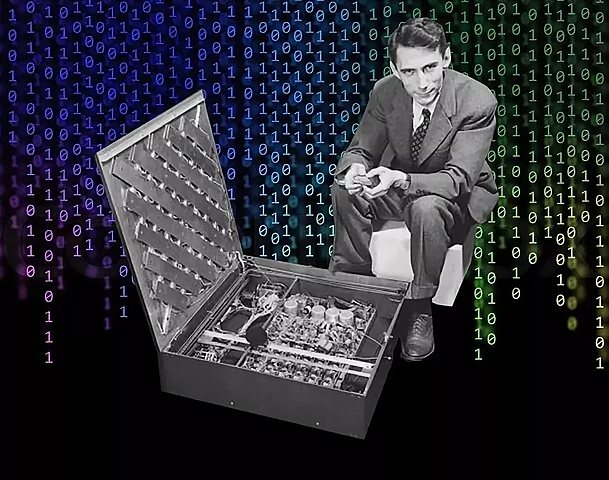 В марте 1950 года Клод Шеннон разработал шахматную программу для компьютера.