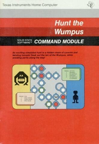 Hunt The Wumpus — первая игра в жанре квест.