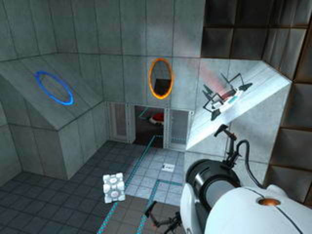 Выходит игра-головоломка «Portal».