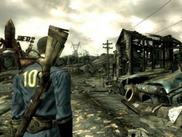 Выходит ролевая игра «Fallout 3».