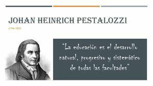 PRINCIPIOS PEDAGOGICOS  DE PEZTALOZZI