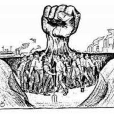 Antecedentes del Derecho Colectivo de Trabajo  timeline
