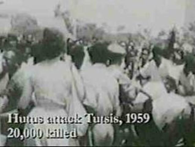 Hutu and Tutsi Tensions Begin