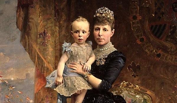 Maria Cristina (1885 -  , mare de Alfons XIII)