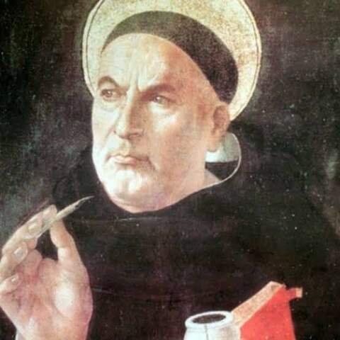 SAINT THOMAS AQUINAS - (1225 - 1274)