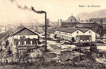 Industrialització d'Itàlia