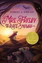 Mrs. Frisby and the Rats of NIMH by Robert C. O'Brian