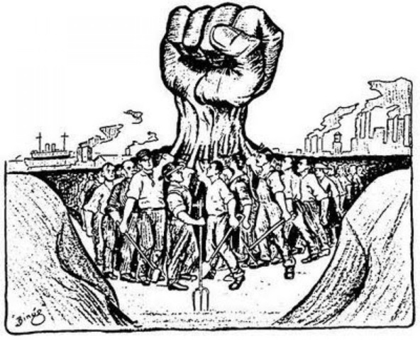 Labor Unions begin Forming