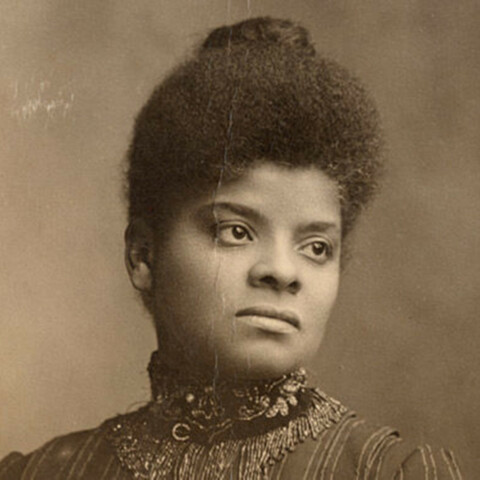 Ida B. Wells founded NAACP