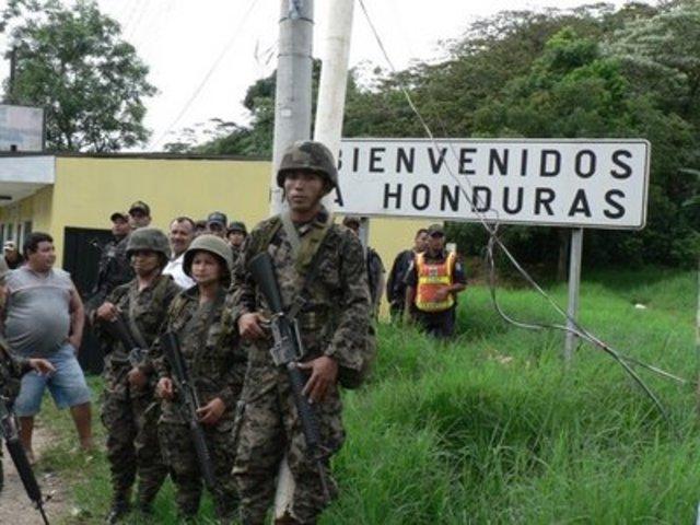 Misión de Verificación en la fronteras Honduras y Nicaragua