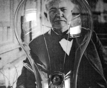 Light Bulb Invented by Thomas Edison