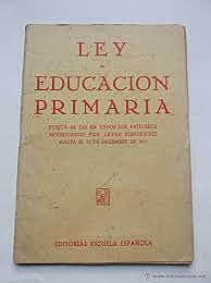 Ley de Educación Primaria