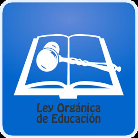 Expedición de la Ley Orgánica de Educación Pública