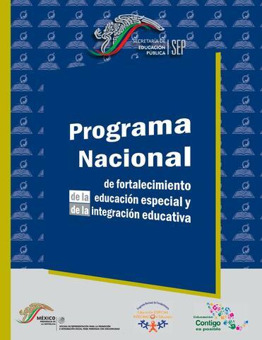 Se crea el Programa de Integración Educativa