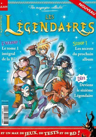 Magazine Collector - Les Légendaires