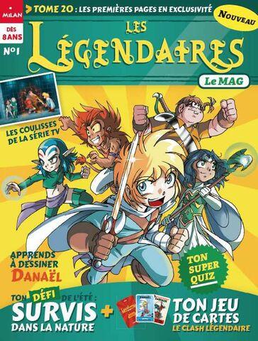Le Mag N°1 - Les Légendaires