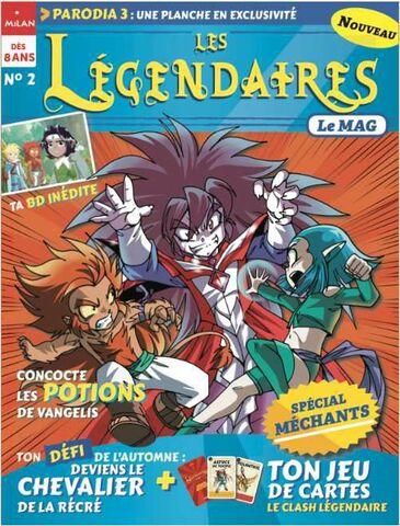 Le Mag N°2 - Les Légendaires