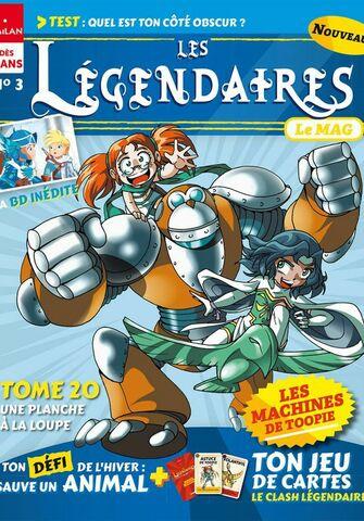 Le Mag N°3 - Les Légendaires