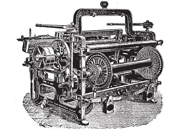Invention of the power loom