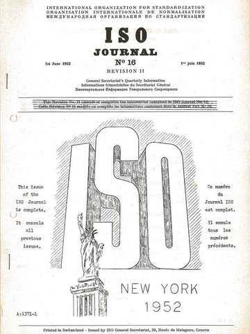 Primera publicación ISO