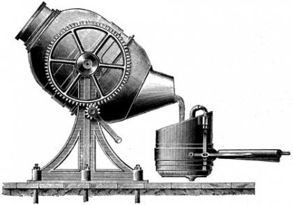 Invention of the Bessemer converter